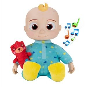 Cocomelon Musical Plush Bedtime JJ Doll Plush NEW